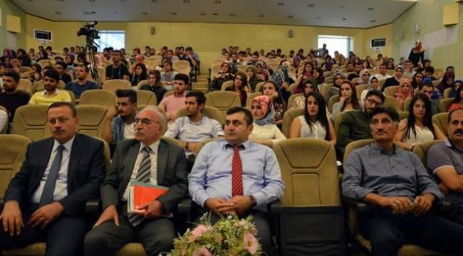 Harran Üniversitesinde yer adlarının tarihsel arka planı konferansı