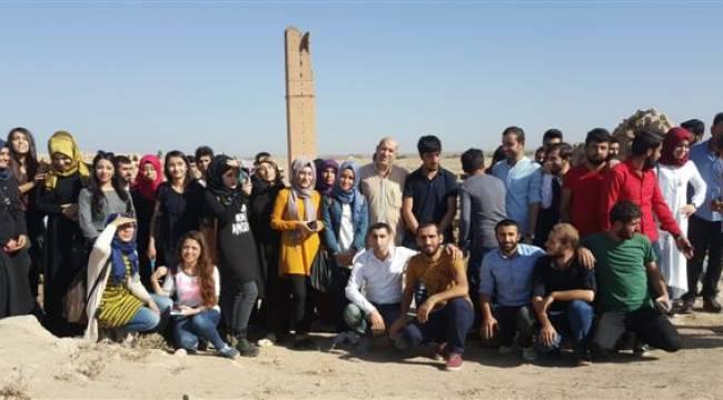 Harran Üniversitesinden Tarihin Derinliklerine Yolculuk