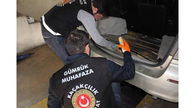 Kapıkule'de otomobilde 26 kilo eroin ele geçirildi