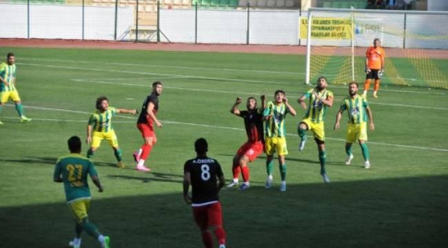 Karaköprü Belediyespor 1 puanla döndü
