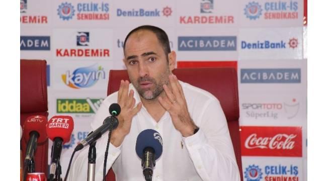 Kardemir Karabükspor - Trabzonspor maçının ardından