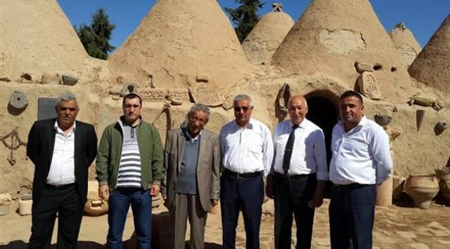 Kayseri Türkmen Derneği Yönetimi Şanlıurfa'da