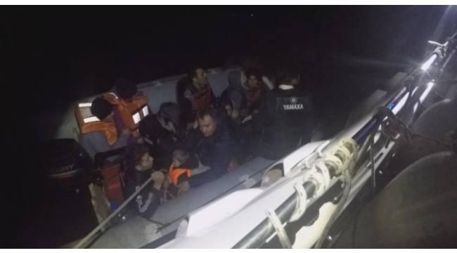 Kuşadası Körfezi'nde 140 kaçak göçmen yakalandı