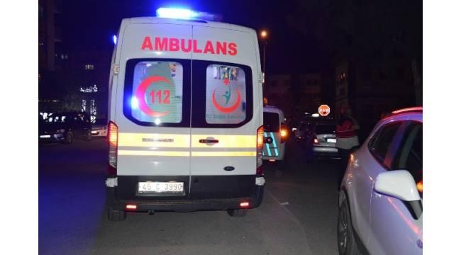 Manisa'da Bıçaklı Kavga 1 Yaralı