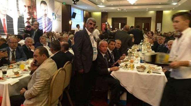 Muhtarlar Toplantısı Urfa'yı Ömer Küçükyıldırım temsil etti