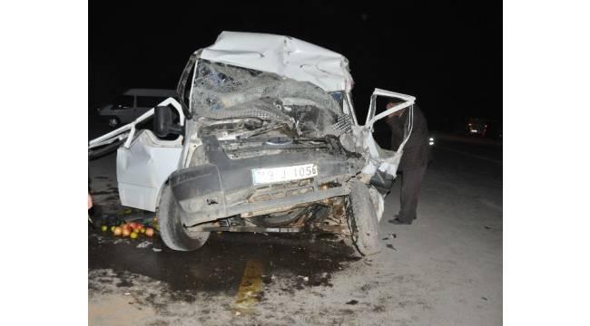 Muş'ta trafik kazası: 2'si ağır 14 yaralı