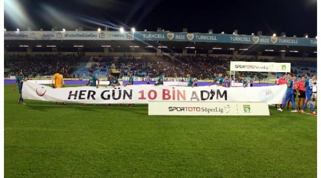 Obezite ile mücadeleye Süper Lig desteği