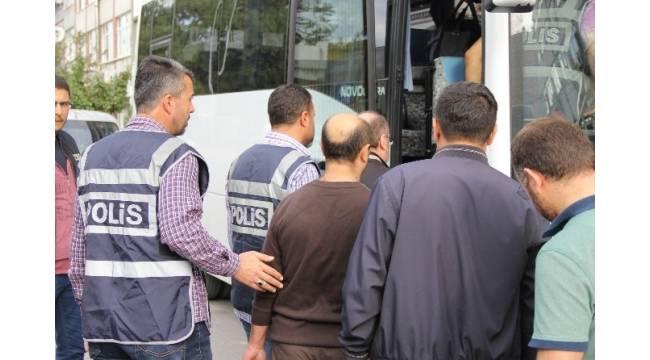 Samsun'da FETÖ'den 3 polis tutuklandı