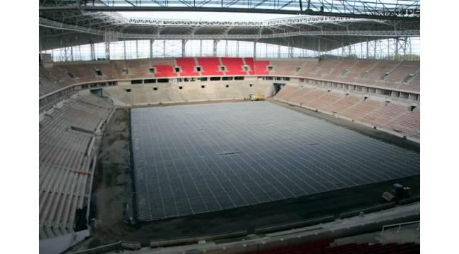 Samsun'un yeni stadı parmak ısırtıyor
