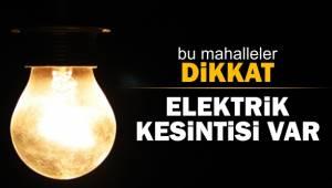 Birecik'te 4 Saat Elektrik Kesintisi Yaşanacak