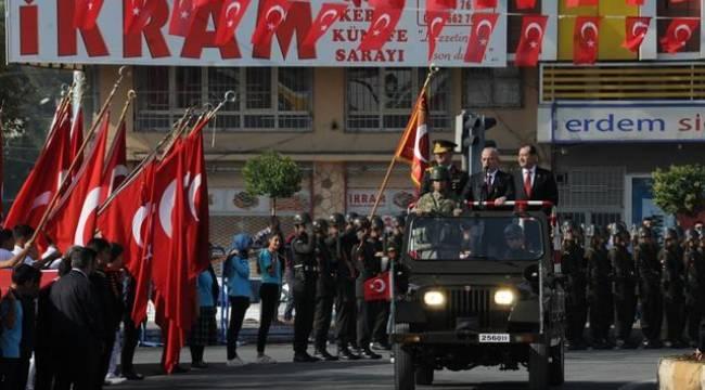 Şanlıurfa'da 29 Ekim coşkulu kutlandı