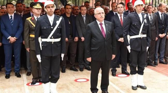 Şanlıurfa'da 29 Ekim Cumhuriyet Bayramı kutlama etkinlikleri