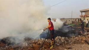 Şanlıurfa'da bir günde 12 yangın