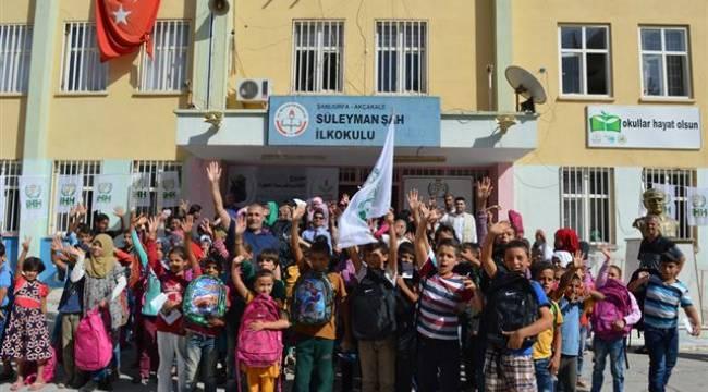 Şanlıurfa'da İHH 735 Suriye'liye yardım etti