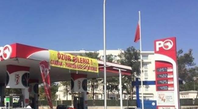 Şanlıurfa'da ilginç LPG pankartı