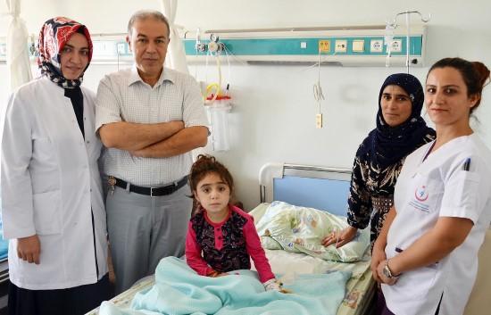 Şanlıurfa'da Kist Hidatik ameliyatı yapıldı