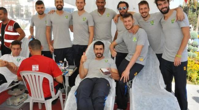 Şanlıurfa'da MSK Takımından kan bağışı