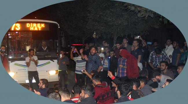 Şanlıurfa'da Öğrenciler eylem yaptı