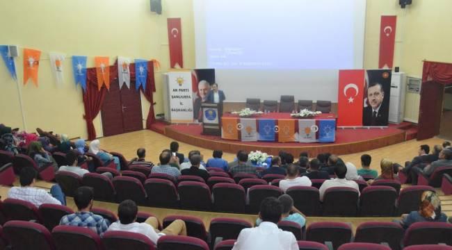 Şanlıurfa'da Siyaset Akademisi devam ediyor