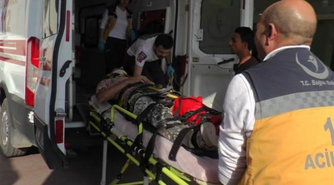 Şanlıurfa'da Suriyeli işçi inşattan düştü