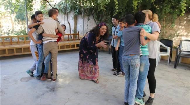 Şanlıurfa'da Türk ve Suriyeli çocuklara masal