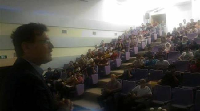 Şanlıurfa'da Üniversite öğrencilerine Geleceğin kentleri anlatıldı