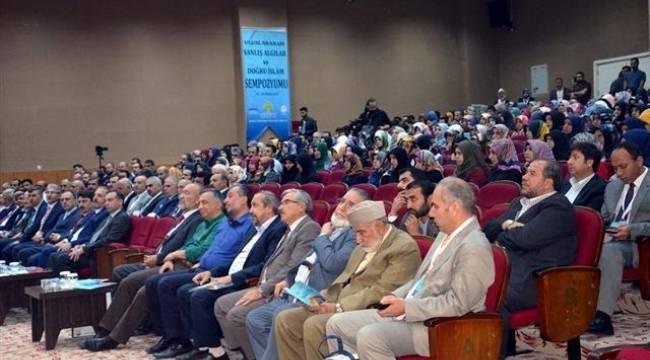 Urfa'da Yanlış algılar ve doğru İslam sempozyumu