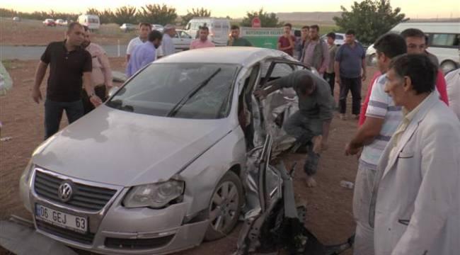 Şanlıurfa-Mardin yolunda kazada 7 yaralı