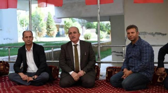 Şanlıurfa Valisi Tuna'dan şehit ailesine ziyaret
