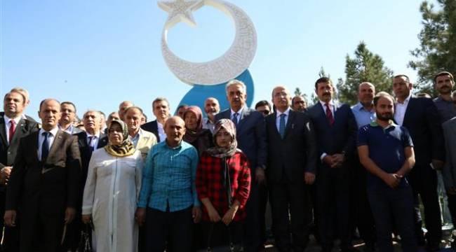 Şanlıurfa'ya Milli İrade ve Şehitler anıtı