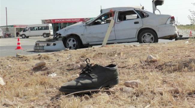 Şanlıurfa'da yollar kan gölü: 2 ölü 2 yaralı