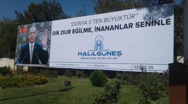 Şanlıurfalı işadamının Erdoğan sevgisi