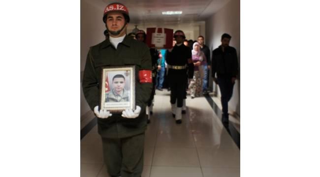Şehit onbaşının cenazesi Alaşehir'e getirildi