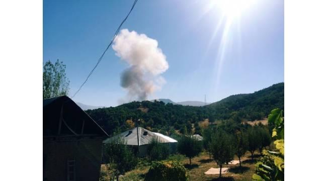 Şemdinli'de karakola bomba yüklü araçla saldırı