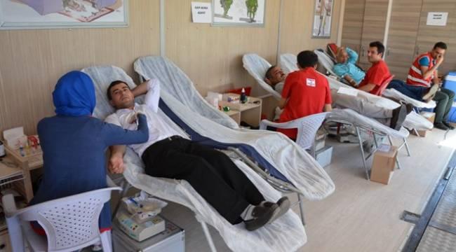 Siverek'te Kan bağışına yoğun ilgi