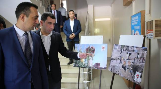Suruç'un Kayyum başkanından Baydilli'ye ziyaret