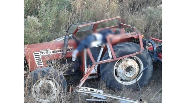 Tekirdağ'da traktör dereye yuvarlandı: 1 ölü