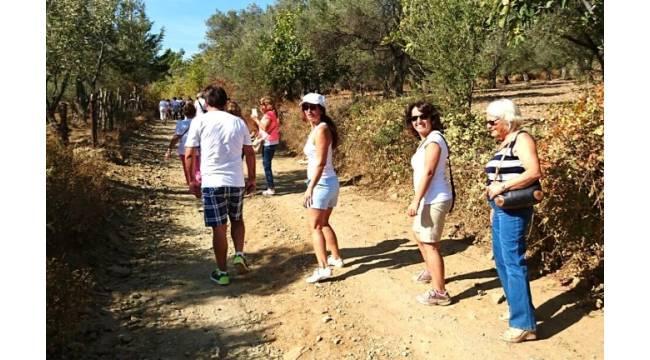 Tuncel Kurtiz'in anısına trekking düzenlendi