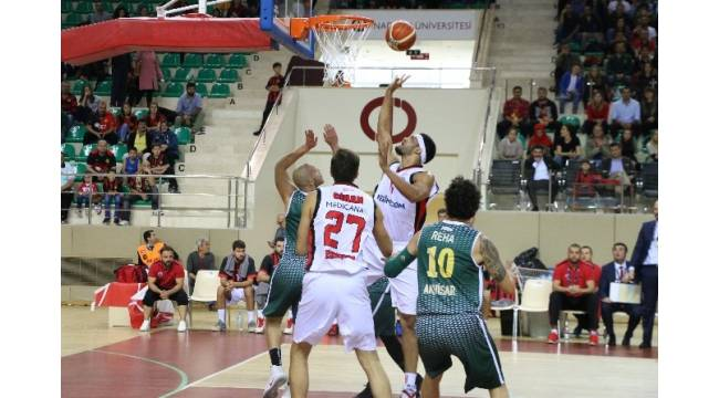 Eskişehir Basket 87-Akhisar Belediye 80
