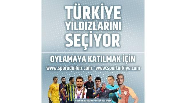 Türkiye Spor Ödülleri halk oylaması başladı