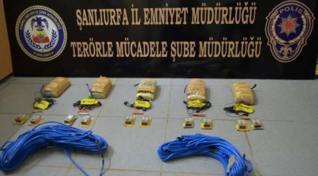 Urfa'da canlı bomba ile katliam yapacaklardı
