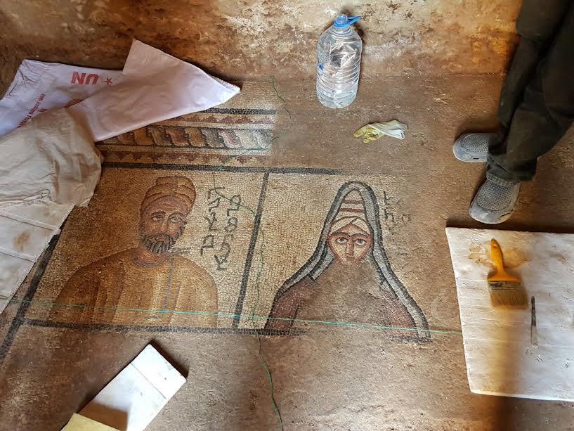 Urfa'da Kral Abgar ait yeni mozaikler bulundu