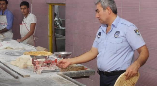 Urfa'da zabıta ekiplerinden sıkı denetim