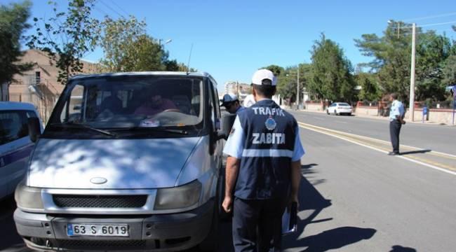 Urfa'daki S Plakalar denetlendi