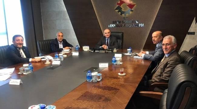 Urfa Heyeti Bakan Özlü'e sorunları iletti