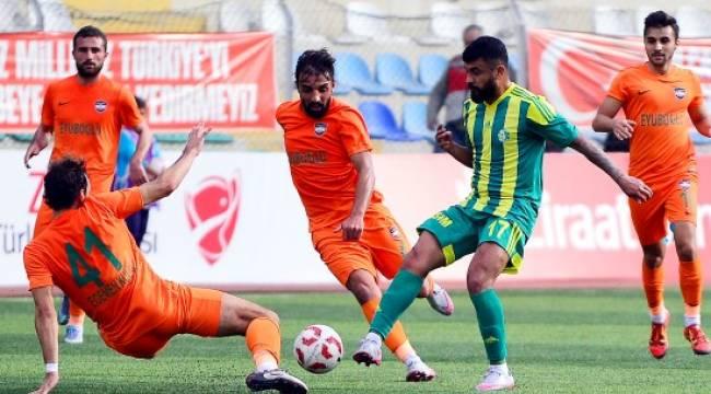 Urfaspor Türkiye Kupasında Tur atladı