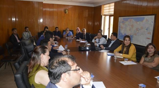 Viranşehir'de BİMER Toplantısı yapıldı