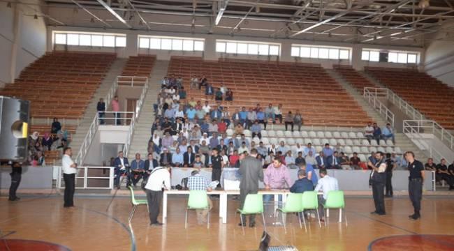 Viranşehir'de İŞKUR kurası çekildi
