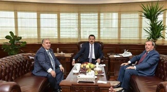 Viranşehir'in sorunları Bakan Çelik'e iletildi