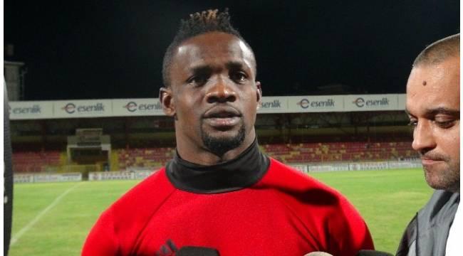 Yeni Malatyaspor'un Nijeryalısı iddialı konuştu